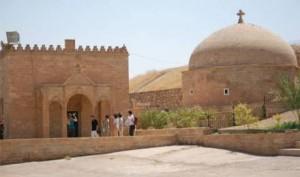 Le couvent de Mar Behnam où Fraternité en Irak s'est rendu en 2013 est aux mains des djihadistes - © Fraternité en Irak