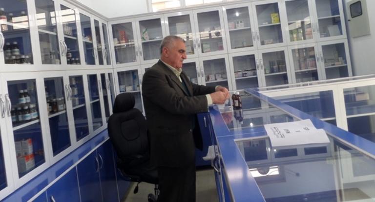 La pharmacie du quartier de réfugiés a rouvert