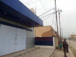Vue de la pharmacie de Qaraqosh extérieur