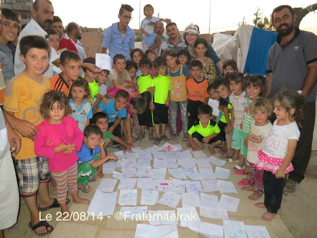 Fraternité en Irak entre Erbil et Kalak