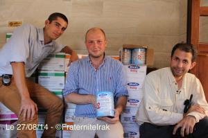 bénévoles FEI + Aide ALqosh - 27:08:14 - logo