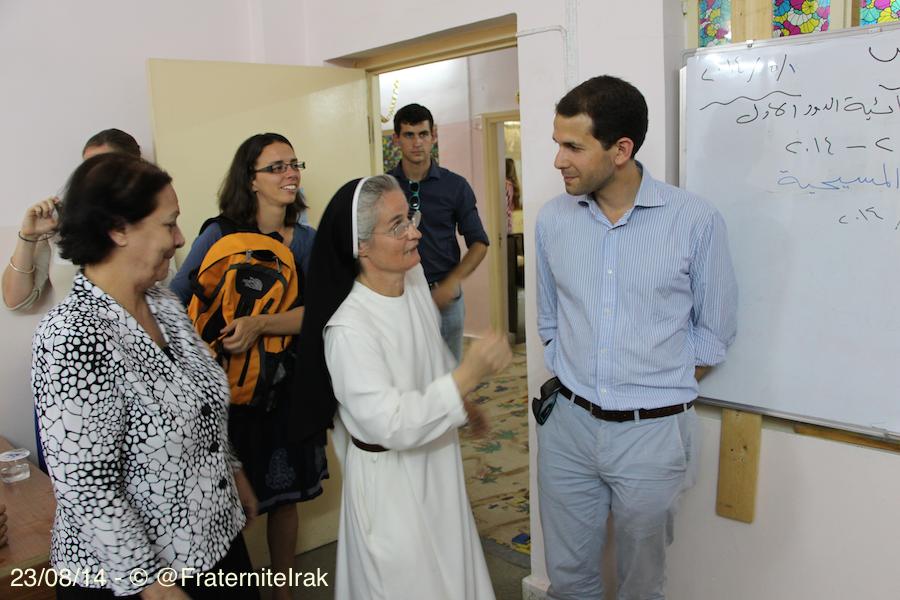 école Kirkluk visite Masoeur Youmna Faraj - 23:08:14