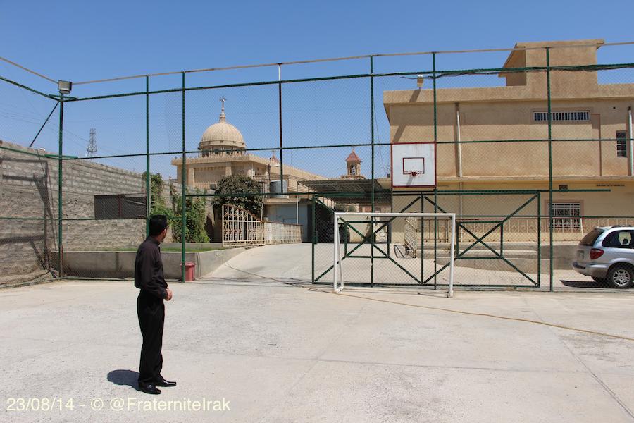école de Kirkouk vue de la cour - 23:08:14