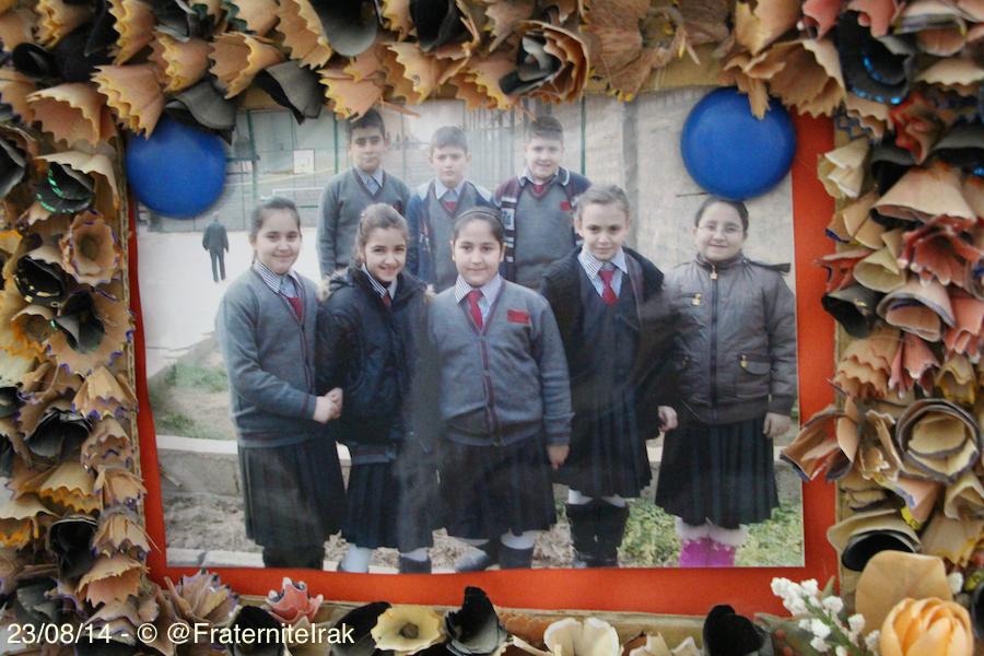 À l'école de Kirkouk, le soutien de Fraternité en Irak porte ses fruits
