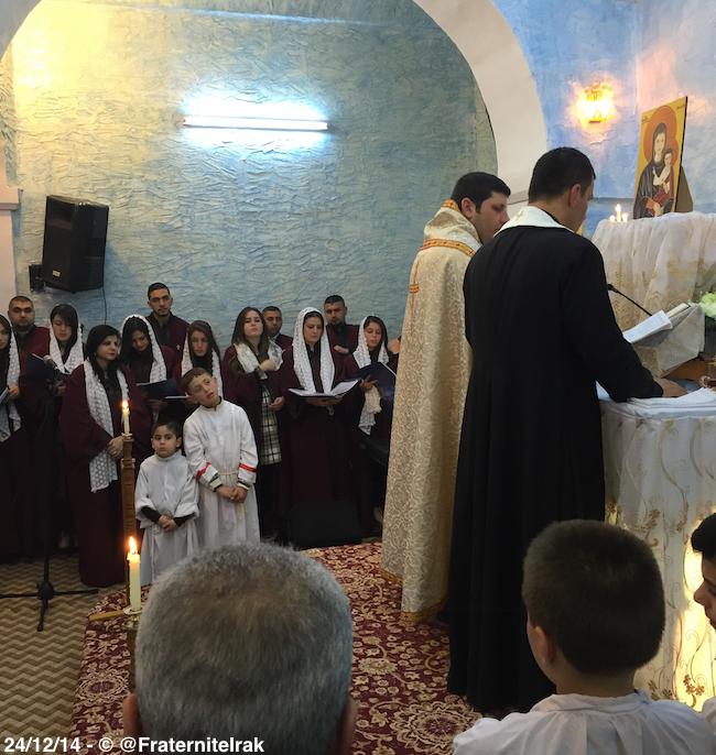 2 Zakho - Messe Noël à Zahko