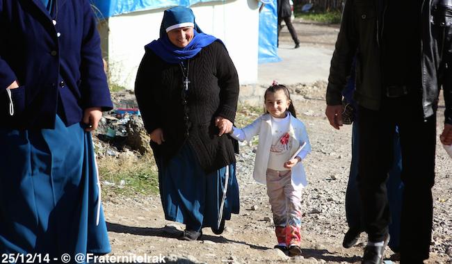 Soeur Amira, au service des réfugiés dans le nord de l'Irak
