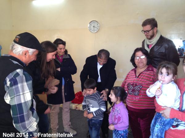 À Alqosh, Fraternité en Irak poursuit son aide de première nécessité