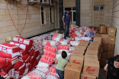 50 tonnes de produits d'hygiène distribués aux déplacés du nord de l'Irak