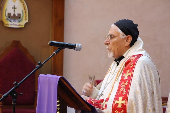 L'archevêque de Mossoul en visite en France avec Fraternité en Irak