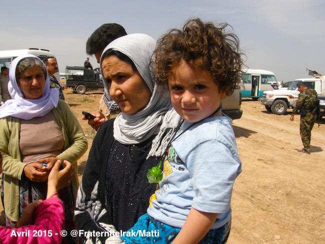 Deux chrétiens libérés avec plus de 200 yézidis après des mois de captivité