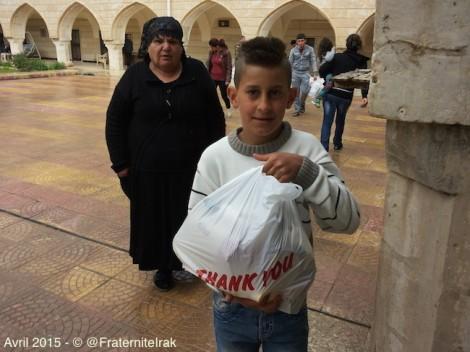 À Alqosh, distribution de nourriture pour 675 familles