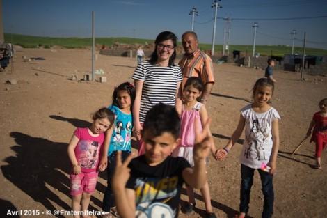 Fraternité en Irak fête Pâques avec les déplacés irakiens