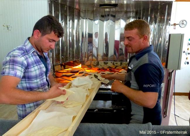 Fraternité en Irak ouvre une boulangerie pour les déplacés à Erbil
