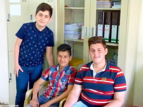 Dernières révisions avant les examens pour les lycéens soutenus par Fraternité en Irak