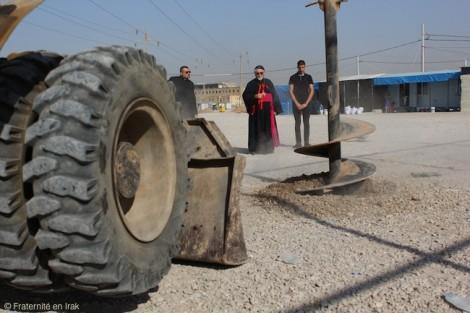 Donnez une église aux réfugiés chrétiens d'Irak