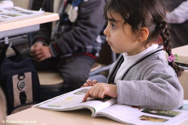 100% de réussite aux examens pour les élèves de l'école de Kirkouk!