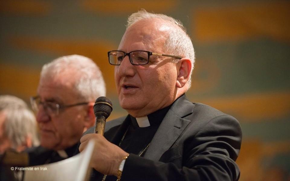 Mgr Louis Sako : «Nous sommes dans un tunnel, mais à la fin il y a la lumière»