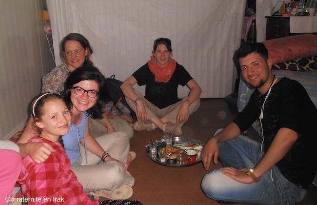 Joies et peines d'une famille de réfugiés de la plaine de Ninive à Erbil