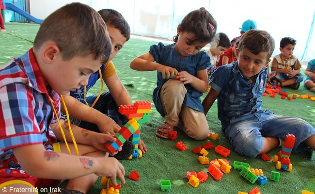 enfants-lego-centre-activite-erbil-aout-2015