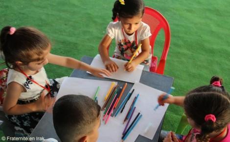 À Erbil, Fraternité en Irak ouvre un centre d'activités pour les tout-petits