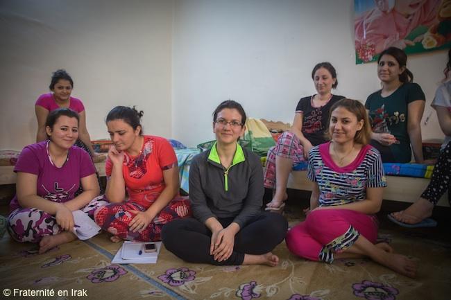 Jeunes réfugiés en Irak, ils font tout pour poursuivre leurs études