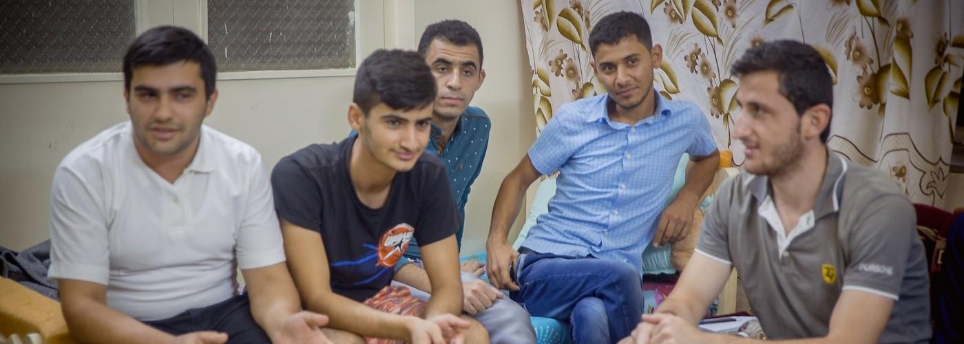 Aidez les étudiants de Kirkouk