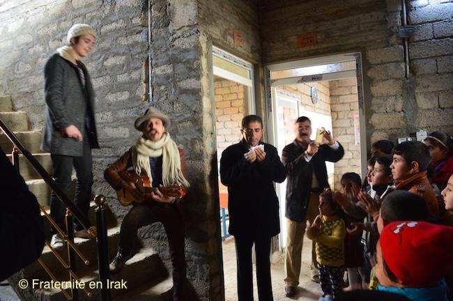 Concert-école-yézidis-Bozan