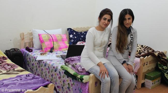 Hiba-Jiyan-chambre-foyer-etudiantes-kirkouk-fevrier-2016