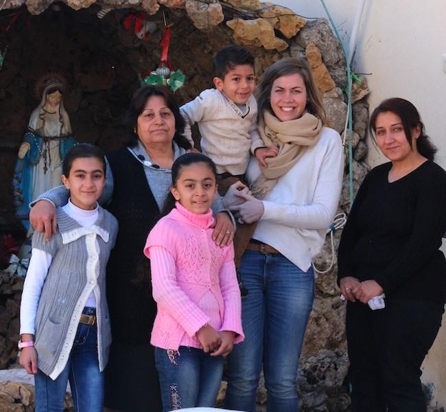 Avec les chrétiens de Sharanish et Deshtetar