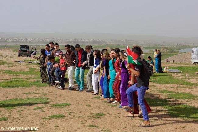 La fête de Newroz avec les Kakaïs