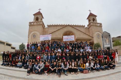 Une grande fête avec tous les étudiants déplacés de Kirkouk !