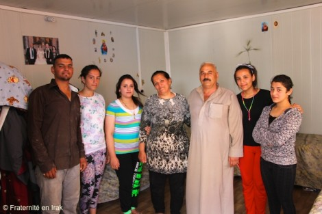 À Erbil, 38 familles relogées grâce à Fraternité en Irak