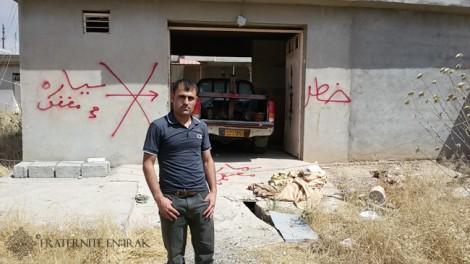 «Onze personnes de mon village ont déjà été tuées par des mines»