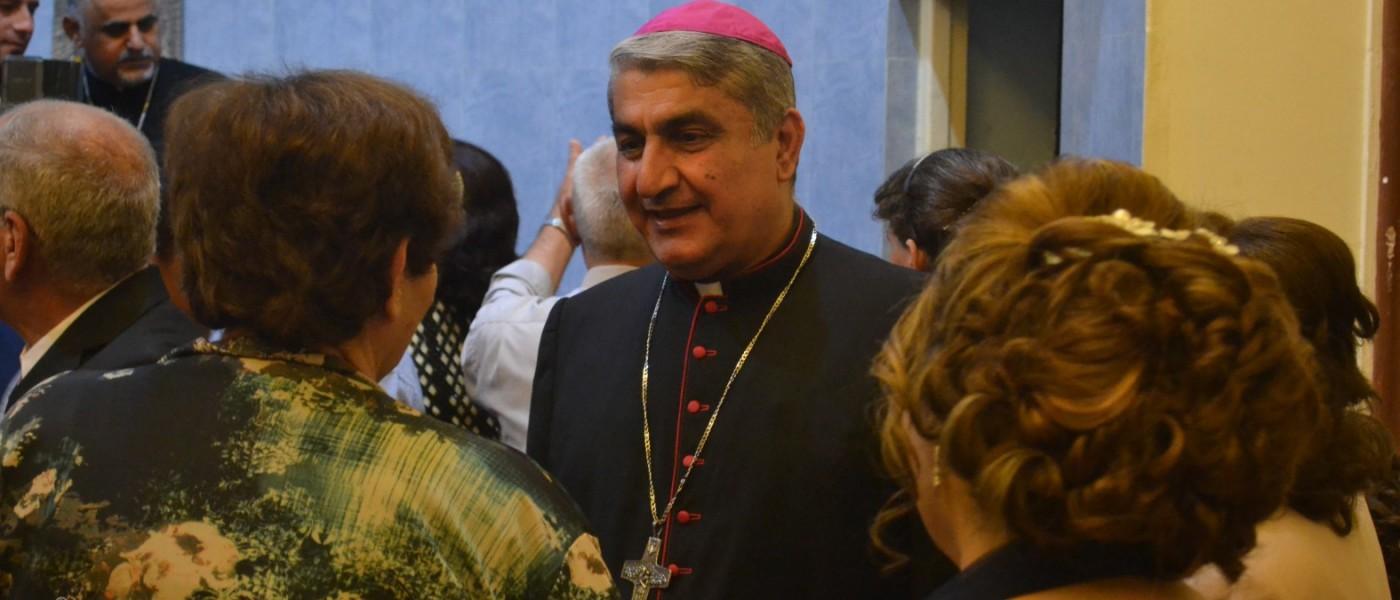 Venue exceptionnelle en France de l'archevêque de Bassorah du 24 au 27 novembre