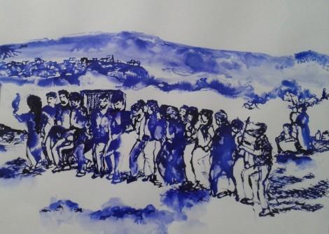 Premières rencontres artistiques France-Irak «Exode et Espérance»