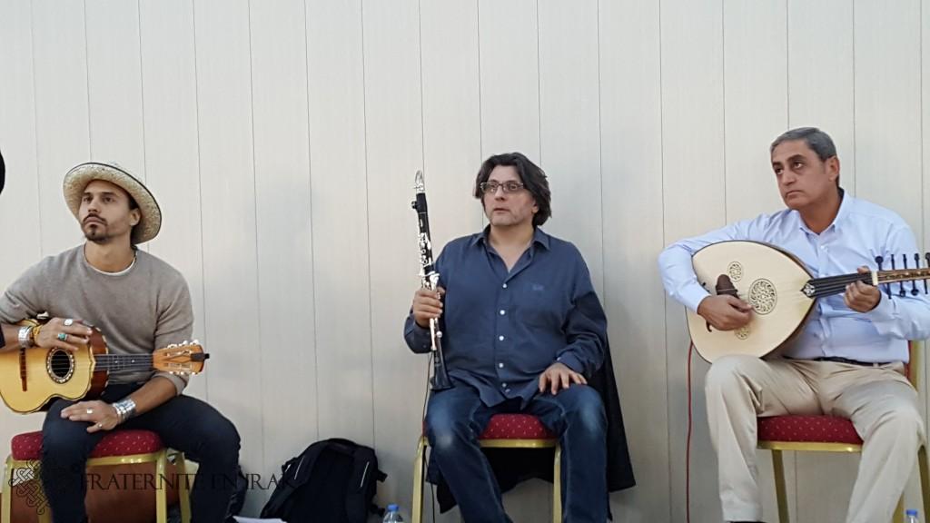 Vinz, et Youssef à l'oud