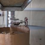 Usine Simsim - Flux de graines pour la presse