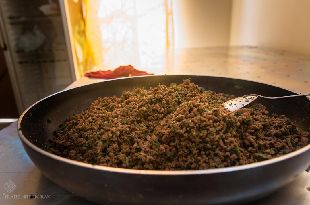 Usine de Kubbah - Viande pour Kubbah