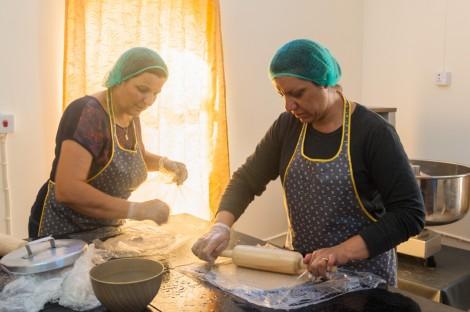 À Alqosh, une fabrique de kubba emploie des réfugiés