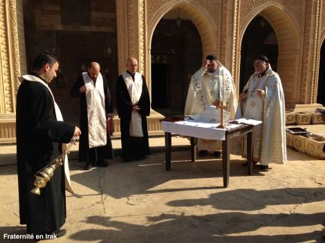 Malgré les destructions, la vie reprend au couvent de Mar Behnam