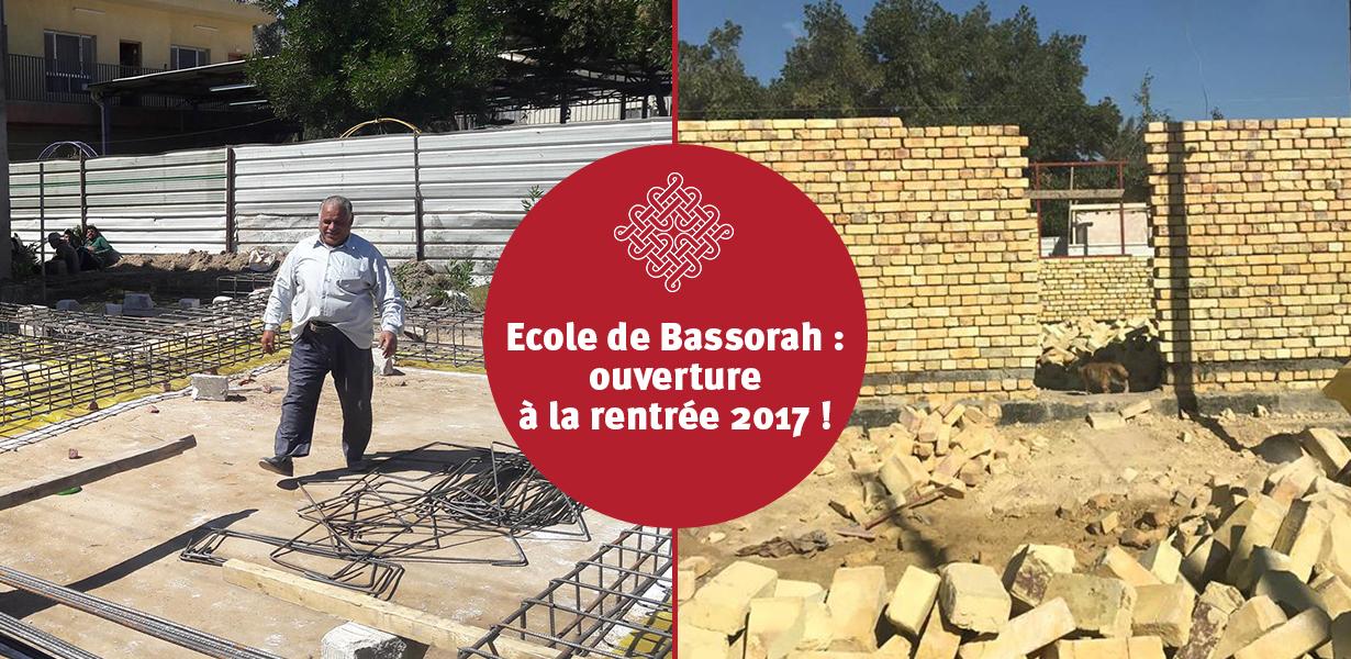 Les travaux de l'école de Bassorah ont commencé !