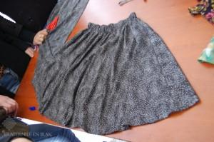 jupe confectionnée par Thura au cours de la formation (1)