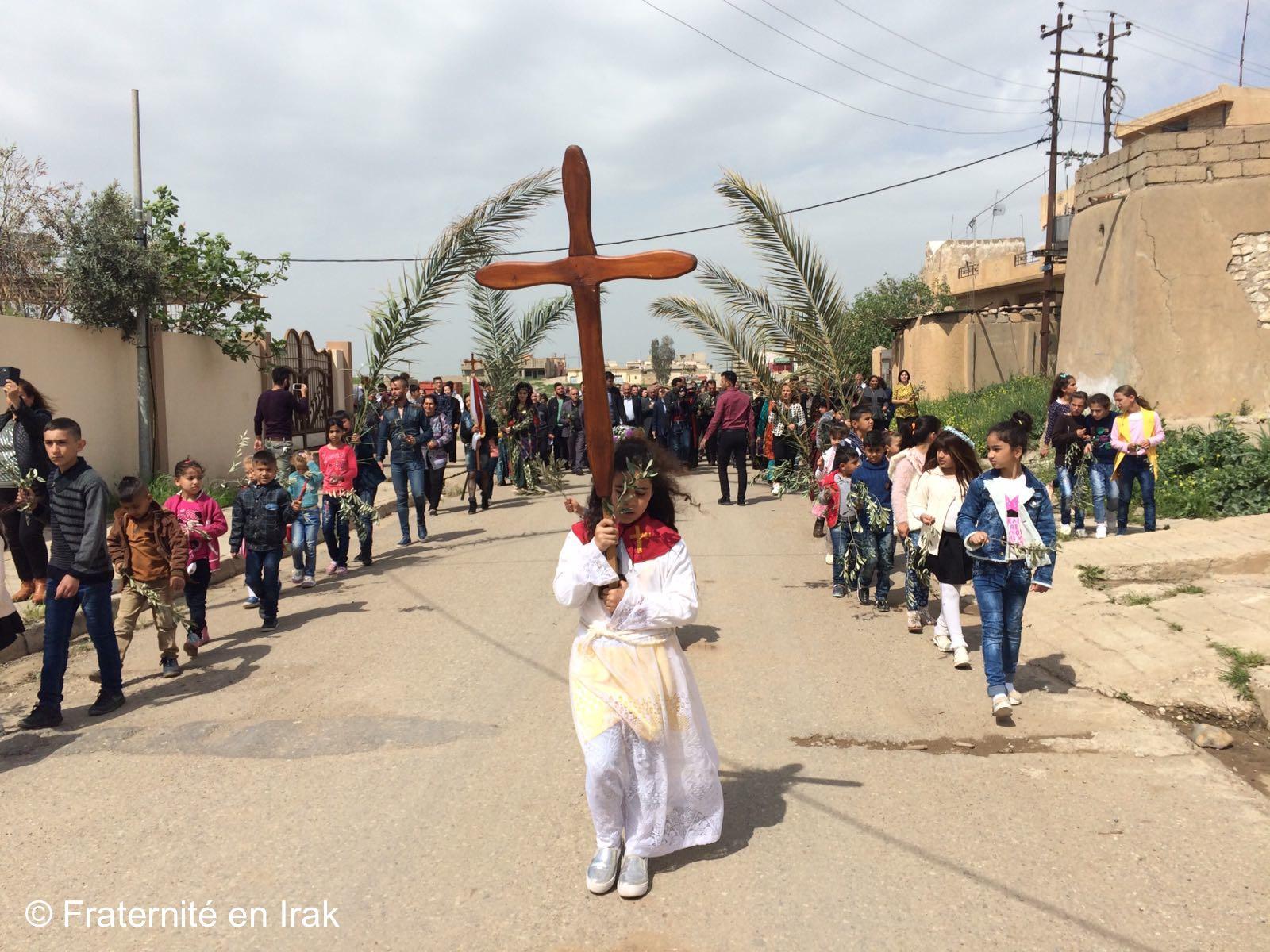 Première fête des Rameaux dans la plaine de Ninive libérée de Daech