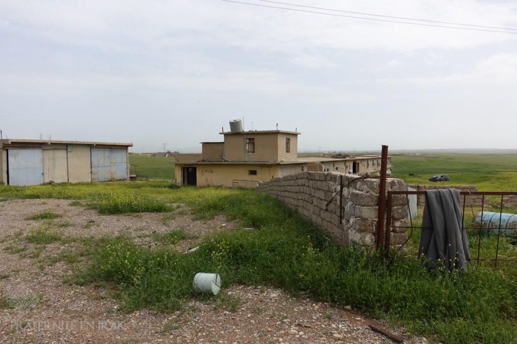 Un des 2 bâtiments élevage de poulet de sami