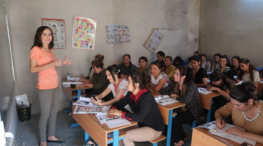 L'école d'été pour les femmes yézidies fait le plein !