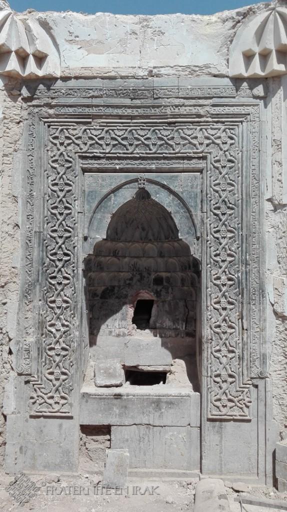 13. AR Niche contenant les reliques et ayant été profannées par Daesh