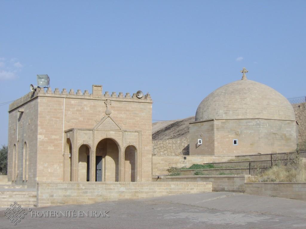 Le mausolée du monastère de Mar Behnam en 2012.