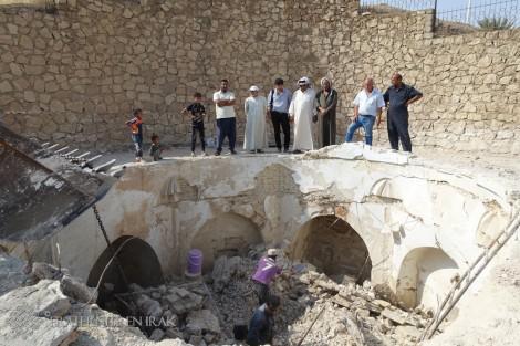 À Mar Behnam, les travaux de restauration ont commencé !