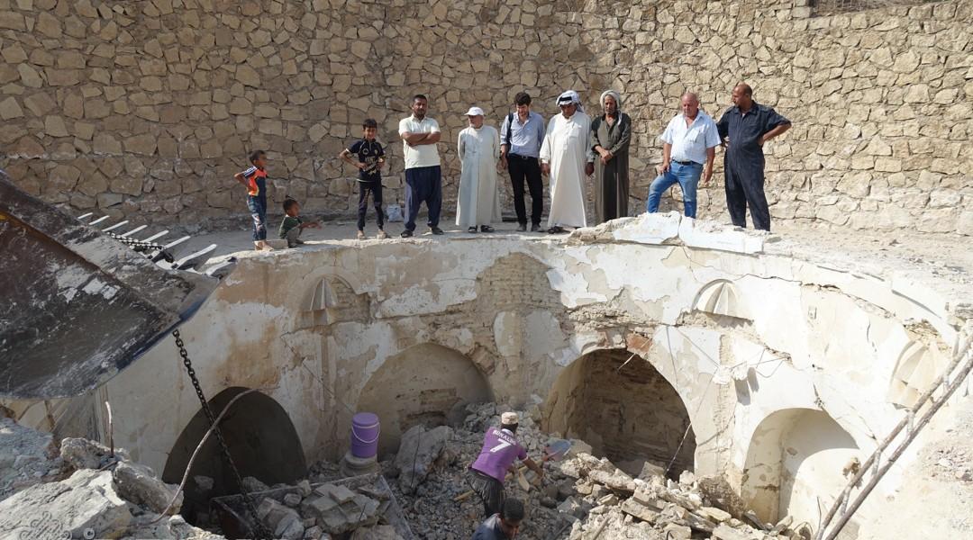Restoration work has begun at the Mar Behnam monastery !