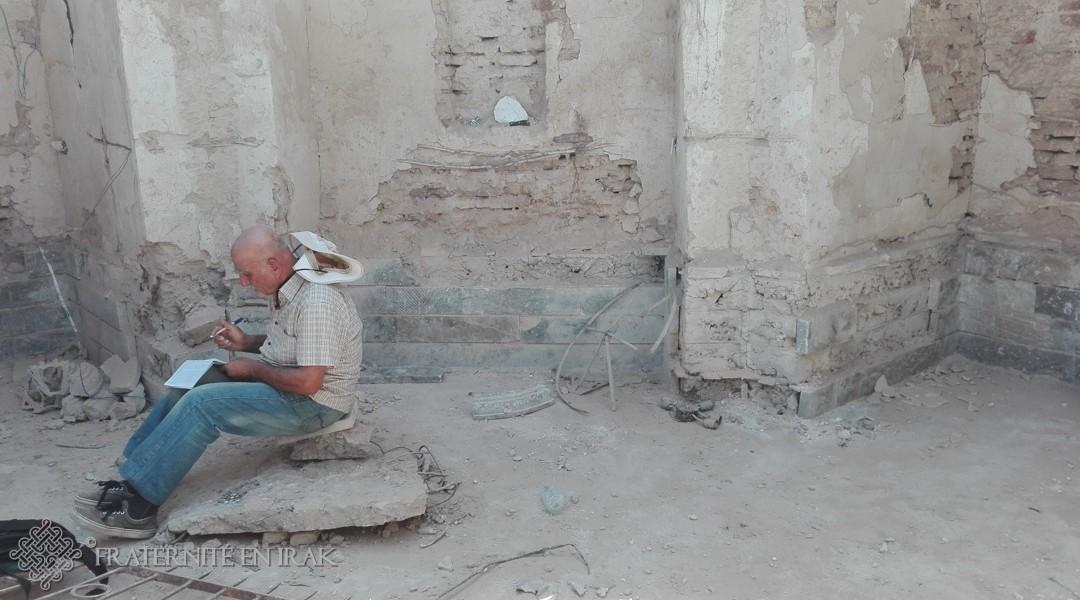 Un archéologue chevronné au chevet de Mar Behnam